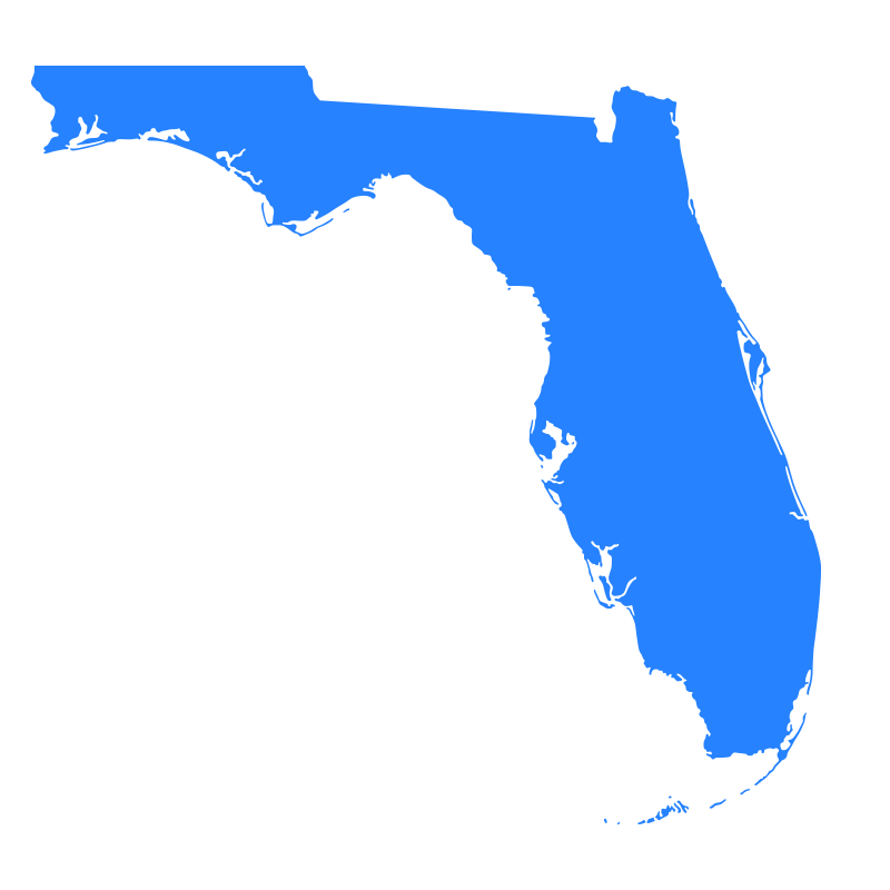 Landau Law - Map Of Florida